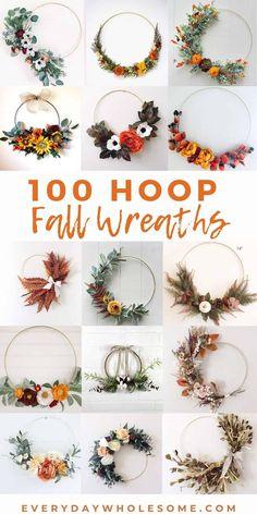 Diy Fall Wreath, Fall Diy, Holiday Wreaths, Diy Halloween Decorations, Flower Decorations, Flower Wreaths, Farmhouse Fall Wreath, Olive Branches, Gerber Daisies