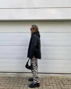 Cute Casual Outfits, Fall Outfits, Fashion Outfits, Zebra Print Clothes, Aesthetic Clothes, Autumn Fashion, Street Style, Style Inspiration, Baby