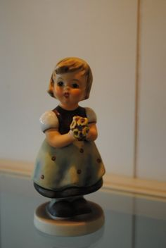 Rare German Porcelain Goebel Hummel Figurine, For Mother