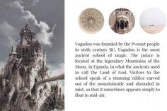 hp » wizarding schools: uagadou 1/6