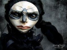 art doll ACHERONTIA CASSIDY HorkaDolls