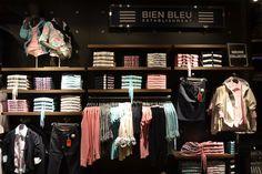 Bien Bleu #brand #visual #merchandise