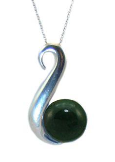 Jade (Greenstone) Pendant