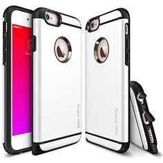 iPhone 6 / 6S Case - Ringke MAX [Free HD Film / Heavy Duty Wear & Tear Resistant][WHITE] Dual Layer Strength Resistant Slim Armor Max Protective Hard Case for Apple iPhone 6S (2015) / 6 (2014) Ringke http://www.amazon.com/dp/B00N16C3ZK/ref=cm_sw_r_pi_dp_ieQjwb1R09600