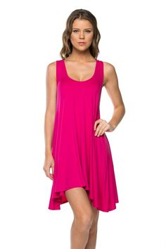 Pretty in Pink Everyday Dress