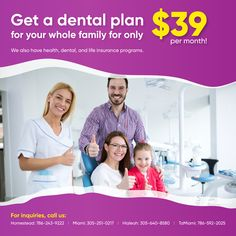 Don't take your family's overall health and wellness for granted. Make the most out of the health, dental, and life insurance programs that we offer. For the well-being of your loved ones, as well as your own, get in touch with us!  #HealthInsurance #LifeInsurance #DentalInsurance Dental Insurance, Life Insurance, Health Insurance, Insurance Benefits, Dental Plans, Peace Of Mind, How To Plan, How To Make, Health And Wellness