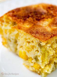 Green Chile Cornbread Recipe on Yummly. @yummly #recipe Green Chile Cornbread Recipe, Creamed Corn Cornbread, Best Cornbread Recipe, Mexican Cornbread, Jalapeno Cornbread, Cornmeal Muffins Recipe, Cornbread Muffins, Jalapeno Bread, Cream Style Corn
