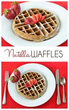 Nutella Recipes: World Nutella Day is February 5th, although this Nutella Waffle recipe is a decadent treat for anytime of year.