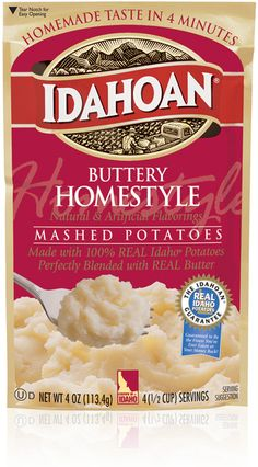 With Buttery Homestyle Flavored Mashed Potatoes, you'll enjoy the superior taste of Idaho® potatoes blended perfectly with real butter. They're satisfyingly rich. Potato Recipes, Pie Recipes, Gourmet Recipes, Eating After Tooth Extraction, Wisdom Teeth Food, Soft Foods To Eat, Baked Mashed Potatoes, Instant Potatoes, Pumpkin Custard