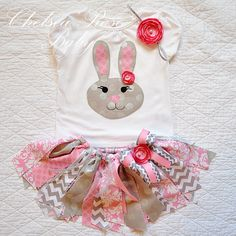 Girls Easter Outfit Easter Dress Baby Easter by BabySquishyCheeks ...