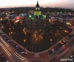 Article: The Best Downtown in Texas! Denton has one of America's Best Main Streets.