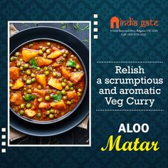 Veg Curry, India Gate, Chana Masala, Fine Dining, A Table, Restaurant, Indian, Book, Ethnic Recipes