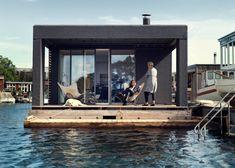 Prachtige woonboot gemaakt door een botenbouwer voor zijn familie - Roomed