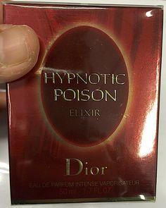 Dior Hypnotic Poison Elixir edp 50 ml. Dior Hypnotic Poison, Spray Bottle