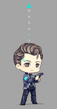 Game: Detroit become human Character: Connor