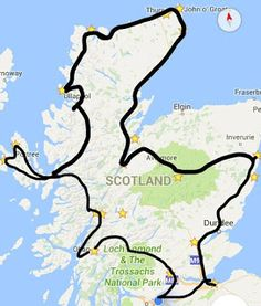 Wanderlust Vegans: 9 Day Itinerary for Road Tripping Around Scotland
