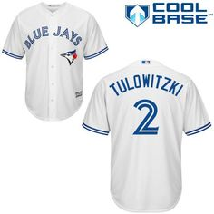 Toronto Blue Jays Jersey - Troy Tulowitzki - YOUTH two color options