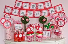 Alice in Wonderland- Queen of Hearts Valentines Day Party