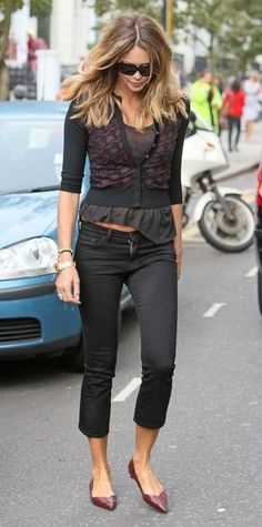 Elle Macpherson.  This woman can wear anything, it looks good on her, no matter what.