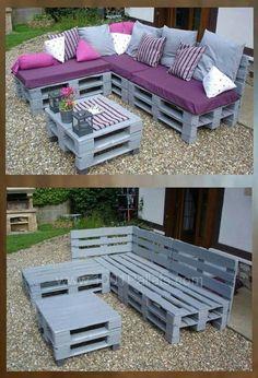 pallet furniture blueprints Source by petramiotke