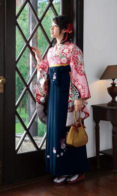 Model Nanami - Kimono & hakama for memorial day Source : Maimu rental kimono - 2014