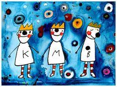 Pohlednice : Tři králové