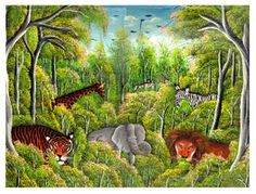 Het muziekstuk Le Carnival Des Animaux (Camille Saint-Saens) is uitermate… Carnival Of The Animals, Rumble In The Jungle, Ranger, Wolf, Music For Kids, Coloring Books, Safari, Images, School