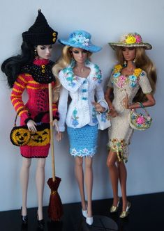 Barbie fashion clothes More (Diy Ropa Fashion) Barbie I, Barbie World, Barbie Dress, Barbie And Ken, Dress Up, Fashion Dolls, Fashion Outfits, Crochet Barbie Clothes, Ken Doll