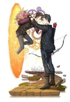 """""""Nefilim Estúpido."""" Magnus y Alec"""