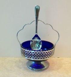 cobalt blue silver plated - Recherche Google