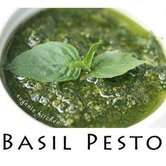 [ HD ] 5-Ingredient Basil Pesto Pasta Sauce - No-Cook Recipe