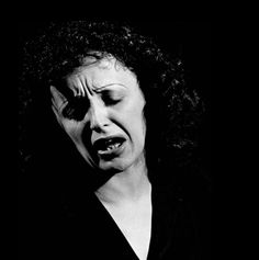 "Gjon Mili     Edith Piaf     1946  ""I want to make people cry even when they don't understand my words."" Edith Piaf"