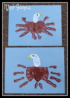 Bald Eagle Handprint 2 by piseco, via Flickr