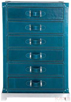 Cabinet Mens World Blue 6 Drw