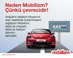 Mobilizm'in sunduğu araç paylaşım sistemi ile doğayı koruyabilirsiniz!