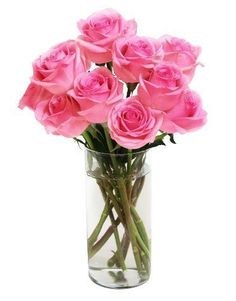 Bouquet of Long Stemmed Pink Roses (D... for only $29.29