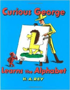 Readers learn the alphabet along with George as the man in the yellow hat teaches the curious monkey how to read. (Grades: Prek-3) Call number: PZ 7.R33 Cul 1993