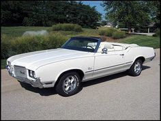 1972 Oldsmobile Cutlass Convertible-- had it. It got stolen and my heart was broken.