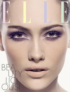 light & breezy l pastel makeup l Elle Cover, Denmark.