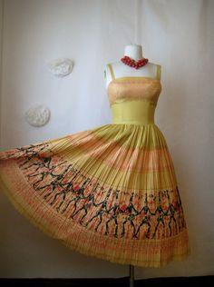 love this vintage dress. koret of california.