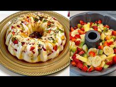 FABULOUS DESSERT IN 5 MINUTES to do immediately! ASMR # 162 - YouTube Pudding Desserts, Köstliche Desserts, Healthy Desserts, Sweet Recipes, Cake Recipes, Caramel Pudding, Bon Dessert, English Food, Desert Recipes