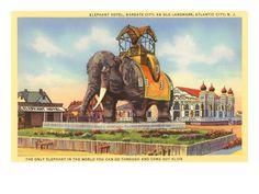 Elephant Hotel, Atlantic City, New Jersey