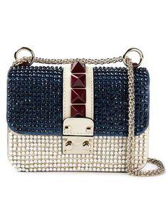 'Glam Lock' shoulder bag