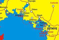 Fethiye map Baba Evi Our home in Fethiye Turkey Pinterest
