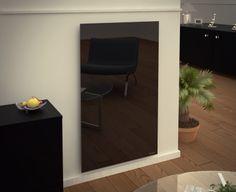 Le radiateur électrique design en verre DomoGlass. http://www.domotelec.fr/domoglass/