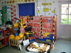 My School Website Construction Eyfs, Construction Business, Construction Design, Dramatic Play Area, Dramatic Play Centers, Woodworking Software, Woodworking Videos, Teds Woodworking, Community Helpers Preschool