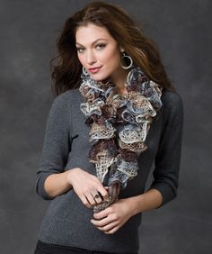 Smoky Swirls Scarf. I LOVE this colors!!!!