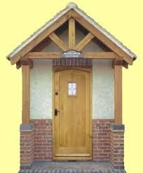 Image result for wooden porch canopy designs & Love the door wonder if I could add this to the front of the ... Pezcame.Com