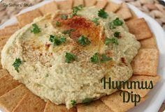 Delicious, healthy Hummus Dip