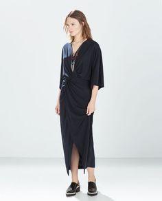 ZARA - NEW THIS WEEK - DRAPED DRESS
